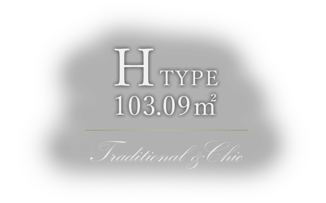 H TYPE 103.09m² Traditional & Chic